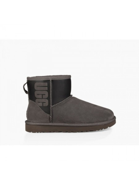 CLASSIC MINI UGG RUBER BOOT GREY