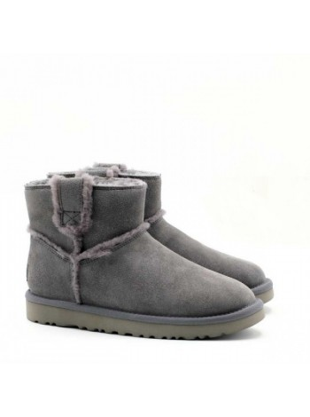 SPILL MINI SEAM BOOTS GREY