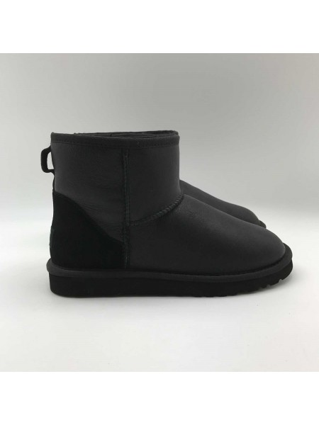 UGG Classic Mini II Metallic Black