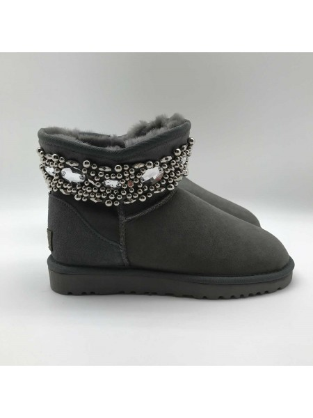 Jimmy Choo Multicrystal Grey