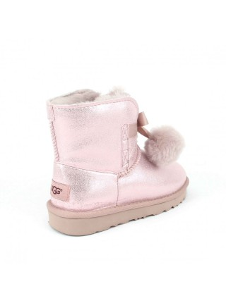 UGG Kid's Gita Metallic Pink