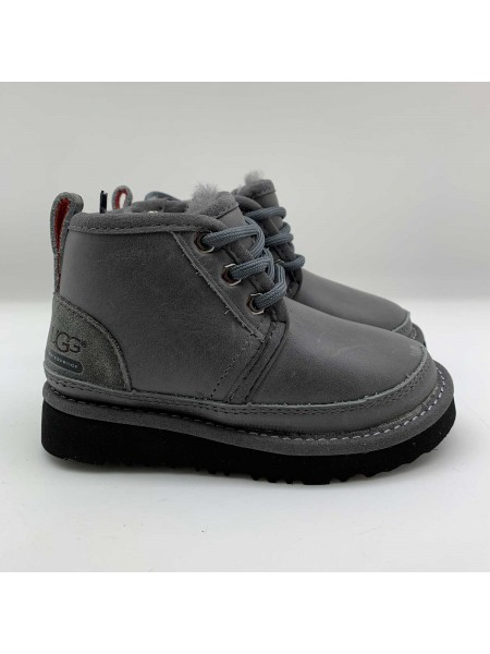 UGG Kid's Neumel II Boot Metallic Grey