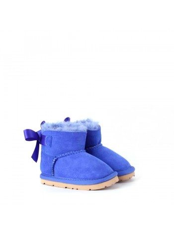 UGG Baby Bailey Bow Blue