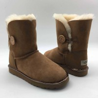 UGG Bailey Button II Metallic Chestnut