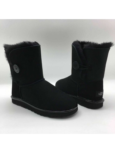 UGG Bailey Button II Metallic Black