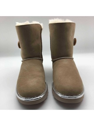 UGG Bailey Button II Metallic Sand