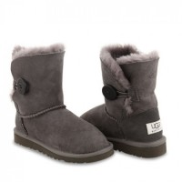 KIDS Bailey Button Grey