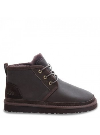 MENS Neumel Boots Metallic Chocolate