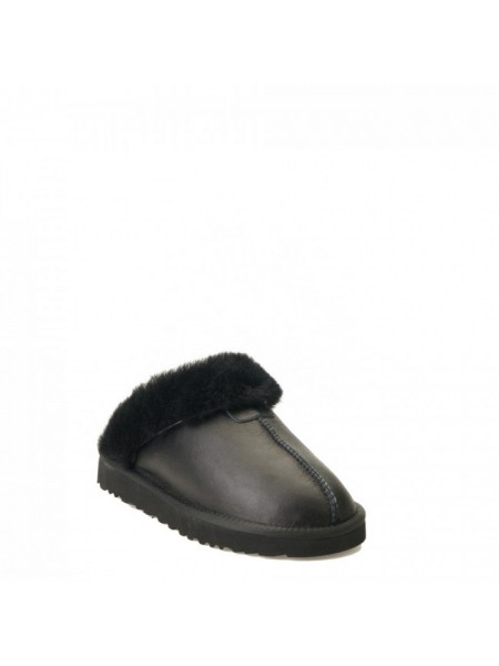 MENS Slippers Scufette Metallic Black