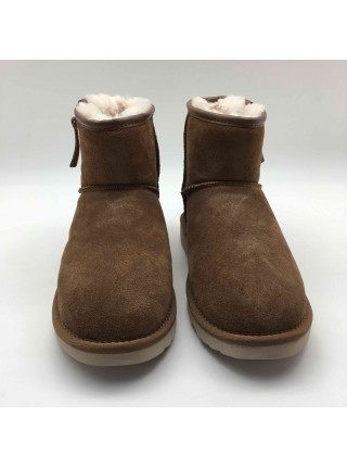 UGG Mini Zip Man Chocolate