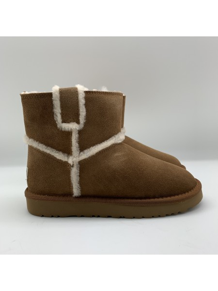 SPILL MINI SEAM BOOTS CHESTNUT