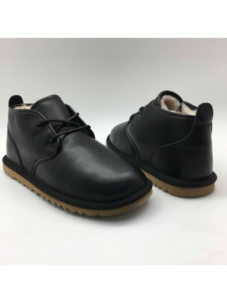 UGG Boots Man Maksim Black Leather