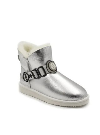 UGG Mini Snow Pack Metallic Silver
