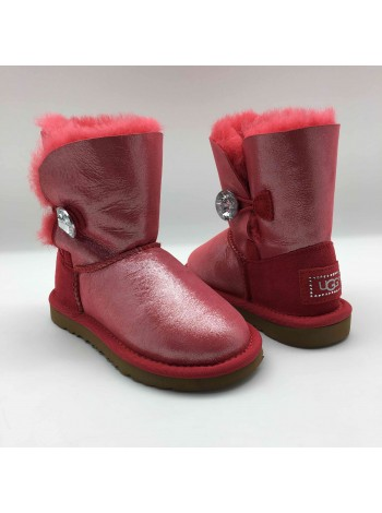KIDS Bailey Button Bling Red