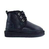 UGG Kid's Neumel II Boot Metallic Black