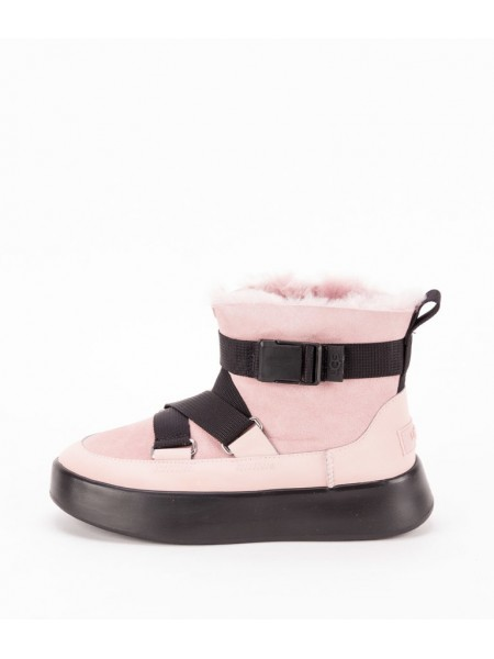 UGG CLASSIC BOOM BUCKLE PINK CRYSTAL