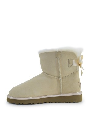 UGG Mini Bailey Bow II Metallic Amberlight