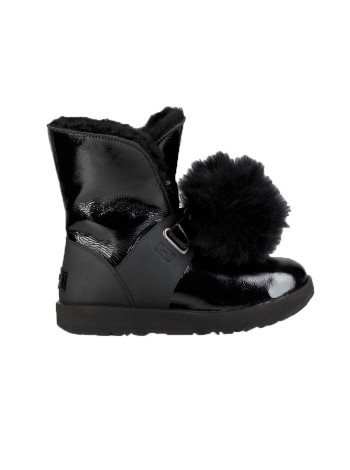 UGG Women's Isley Patent Black