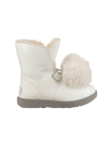 UGG Women's Isley Patent White
