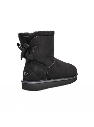 UGG Mini Bailey Bow II Metallic Black