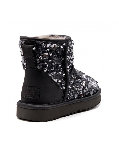 UGG mini sparkles miracle black
