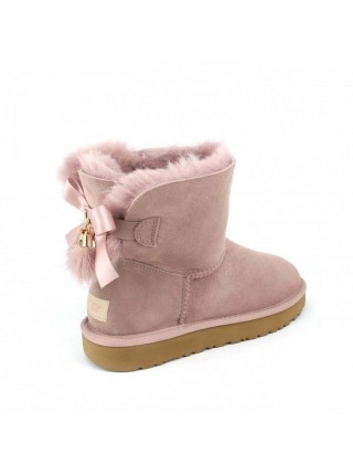 UGG Mini Bailey Bow Tassel Dusk