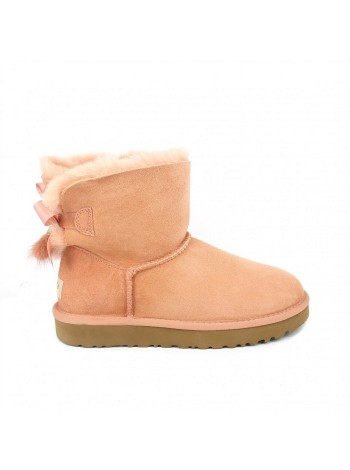 UGG Mini Bailey Bow Tassel Lantana