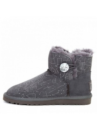 Bailey Button Mini Constellation Bling Grey