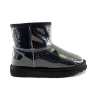 UGG Isabelle Transparent Mini Waterproof Boot Black