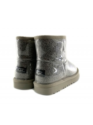 UGG Isabelle Transparent Mini Waterproof Boot Grey