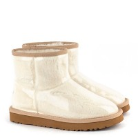 UGG Isabelle Transparent Mini Waterproof Boot White