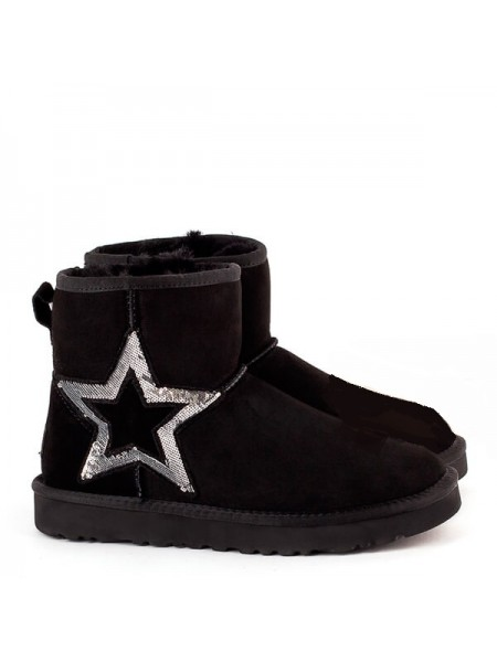 UGG Classic Mini Sequins Black