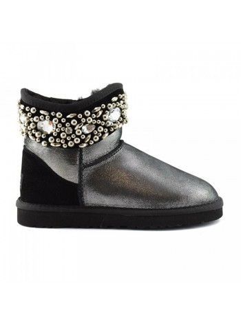 Jimmy Choo Multicrystal Glitter Black