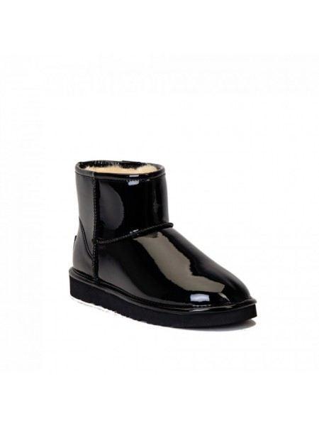Jimmy Choo Mini Patent II Black