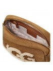 Сумка Janey Sheepskin Crossbody Chestnut