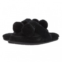 UGG Slippers Hafnir Pom Black