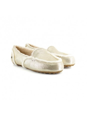 UGG Moccasins Hailey Loafer Platinum Gold