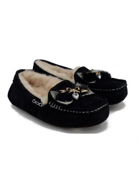 UGG Moccasins Dakota Serein Black