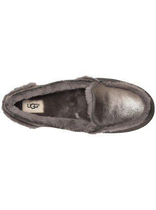 UGG Moccasins Hailey Loafer Gun Black