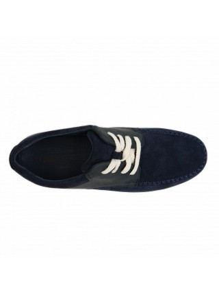 Mens Ascot Catton Canvas Navy