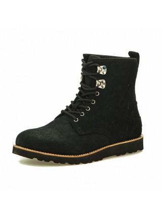 MENS Hannen Black Grizzly