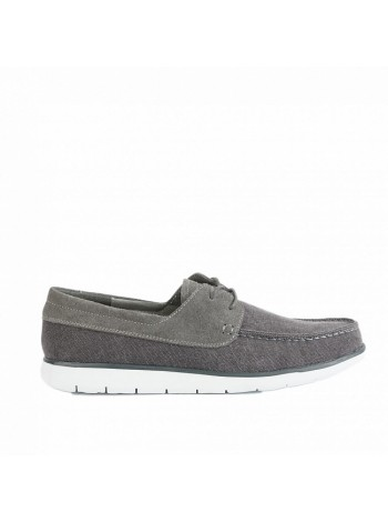 Mens Catton Canvas Grey